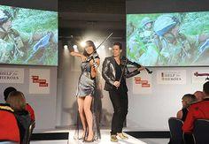 Electric Violin - Hello Magazine  -   electric violinist- www.linzistoppard.com