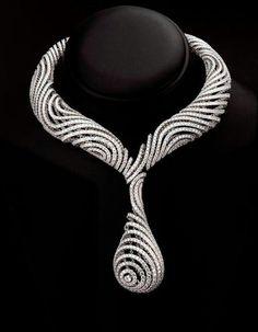 Diamond and Platinum Necklace