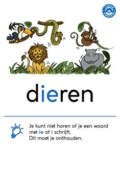 www.taal-oefenen.nl ondersteunende-materialen spelling woordkaarten weetwoorden Educational Leadership, Educational Technology, Learn Dutch, Dutch Words, Dutch Language, Mobile Learning, Learning Quotes, Primary Education, Teacher Quotes