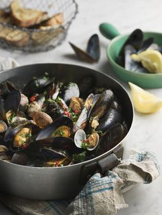 Mussel Magic, with Recipes