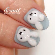 3d Nails, Nail Manicure, Acrylic Nails, Kawaii Nail Art, Cute Nail Art, Gorgeous Nails, Pretty Nails, Nails Ideias, Hello Nails