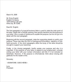 Sle Business Letters Crna Cover Letter