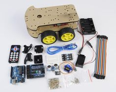 Remote Control/Trace/Obstacle Avoidance Intelligent Car for Arduino