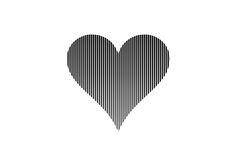Heart Template For Book Art