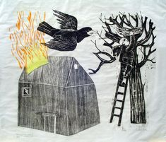 woodcut art - Google Search