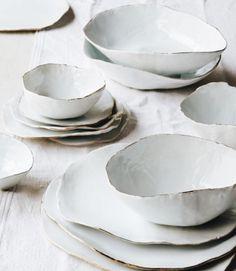 Des céramiques blanches