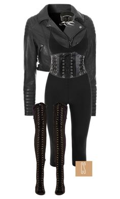 """""""Untitled #1142"""" by vladacatalleyag on Polyvore featuring Forever 21, Jeffrey Campbell and Rendor & Steel"""