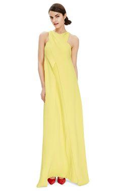 Cross-Front Silk-Crepe Gown by Rosie Assoulin - Moda Operandi