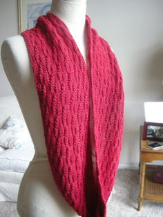 The Mogul Cowl & Infinity Scarf Recipe is written to serve as a guide for creating any size cowl using the angular basket weave stitch pattern. Though the featured samples and pattern recipe show two sizes: Small and Large, it is up to the knitter to determine the finished size and fabric drape for their cowl.