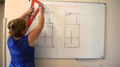 DIY : Modelagem de Gola de Blazer (tradicional e xale) - Aula 29