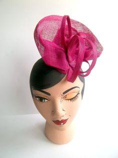 Sinamay  Derby Hat - AMANDA G. JOYNER #millinery #HatAcademy