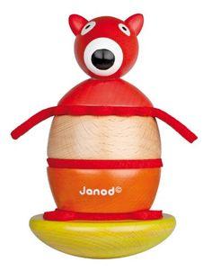 Janod Fox Stacking/ Rocking Toy: Amazon.co.uk: Toys & Games