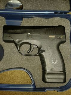 Beretta Nano with 8 round magazine, this is an excellent CC firearm.