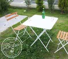 Bistro ナチュラルチェア 2脚セット Two Bistro natural chair set
