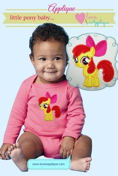 My Little Pony Applique. My Little Pony Embroidery, My Little Pony Designs. My Little Pony Party Ideas. My Little Pony Outfits, www.lovesapplique.com