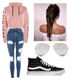 """""""Untitled #13"""" by lillian-vallery on Polyvore featuring Topshop, Hype, Vans and Sunny Rebel"""