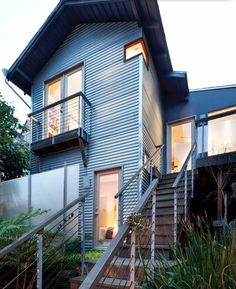 This tiny house design in San Francisco is big on storage - and style. It wasn't always this way though. Quite a transformation.  http://www.tinyhousewebsites.com