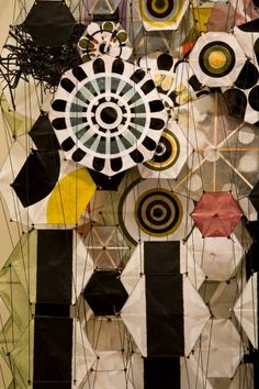 by Jacob Hashimoto  Great Paper Artist <3