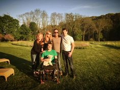 Bruce and the Springsteen family opening up their home for a good cause.