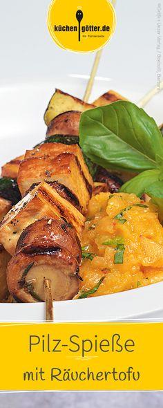 Ein vegetarisches Rezept, das durch den Räuchertofu seine besondere Note erhält.