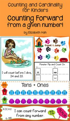 Focused activities for counting on plus mastering tens and ones. Includes an original poem. $