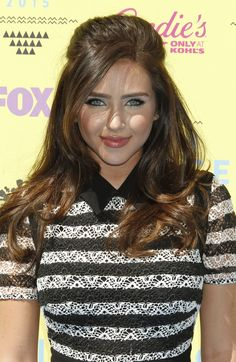 Ryan Newman arrives at the Teen Choice Awards 2015 at Galen Center on August 16, 2015 in Los Angeles, California.