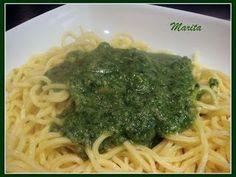Salsa pesto para pasta (thermomix) - Receta Petitchef