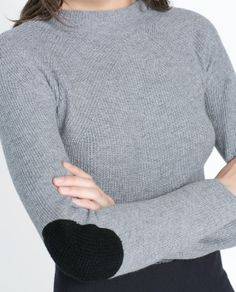 ZARA - WOMAN - SWEATER WITH ELBOW PATCHES