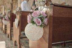 La boda de María Juliana y Luis por efeunodos fotografía. Decoración de la ceremonia.