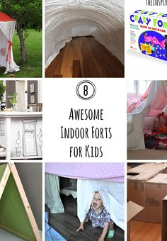 When you and your kids are stuck inside this winter, try these 8 awesome indoor forts! Your boys will love playing with their Hot Wheels cars under these awesome designs!
