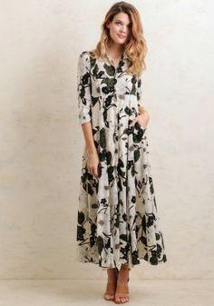 Southern Magnolia Maxi Dress