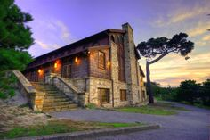 Merrill Hall, Asilomar in Pacific Grove, California