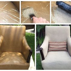 There is hope for some bonded leather furniture that is cracking and peeling…