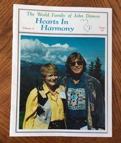John Denver Hearts In Harmony Fan Club Magazine
