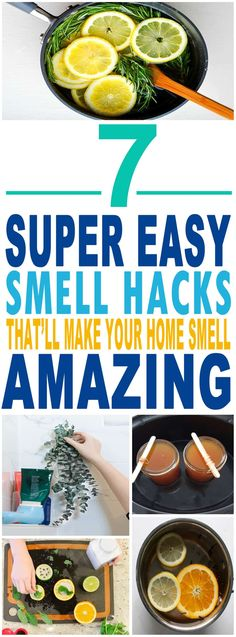 These are the BEST smell hacks for my home!! Glad to have found these amazing home smell tips. Definitely pinning for later.