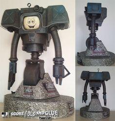 Fallout New Vegas Yes Man Papercraft