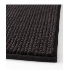 Amazon.com - Ikea Black Toftbo Supersoft Bath Shower Mat Rug Bathtub Bathroom Floor -