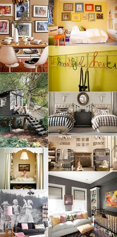 Beautiful Home Spaces for the Kids. For more, like Merriment on Facebook at http://www.facebook.com/pages/Merriment-A-celebration-of-style-substance/203548336323757.