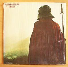 WISHBONE ASH - Argus - Vinyl LP Blowin free The King will come Warrior - Top RAR