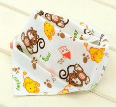 Baby Infant Toddler Triangle Bandana Cotton Bibs