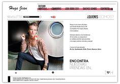 Hugs Jeans. Sitio Web Dinámico.