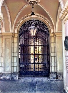 Looking in by SpatzMe, via Flickr  Town hall of Graz, Austria