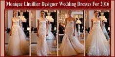 Monique Lhuillier Designer Wedding Dresses For 2016 Cheap Wedding Dress, Designer Wedding Dresses, Budget Wedding Invitations, Wedding Planning Guide, Monique Lhuillier, Couture Fashion, Wedding Ceremony, One Shoulder Wedding Dress, Bridal