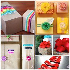 donneinpink- fai da te e consigli per gli acquisti: Impacchettare i regali -  8 idee fai da te