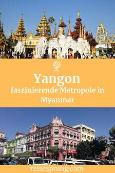 Freu dich auf all das, was du in der faszinierenden Metropole Yangon entdecken kannst. Hier findest du goldene Pagoden, lebendige Märkte, kreative Restaurants und Gebäude aus der Kolonialzeit. #ReiseMyanmar #UrlaubMyanmar #IndividualreiseSüdostasien #ReisezielWinter ReisetippsAsien #StädtereiseYangon