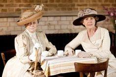 La comtesse douairière et Mrs Crawley