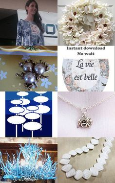 Friday Wonder, la vie est belle !!! by Marie ArtCollection on Etsy--Pinned with TreasuryPin.com