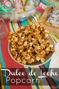 If you love caramel popcorn - try this dulce de leche popcorn recipe with sea salt. It's totally addictive!