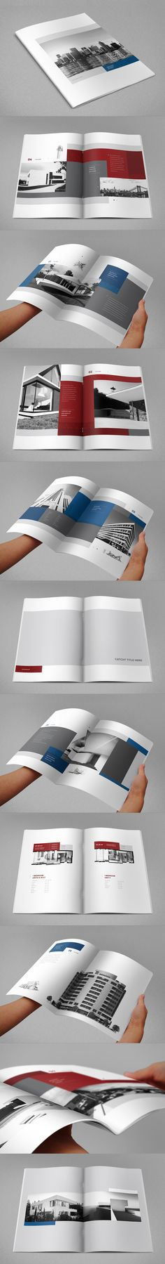 Real Estate Brochure 3. Download here: http://graphicriver.net/item/real-estate-brochure-3/8466289?ref=abradesign #design #brochure