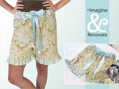 Re-imagine & Renovate - Wearables: Dreamy Sleep Shorts